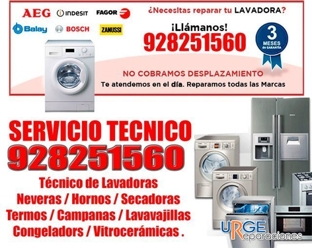 Anuncios de servicio tecnico reparaciones lavadoras en for Electrodomesticos industriales segunda mano